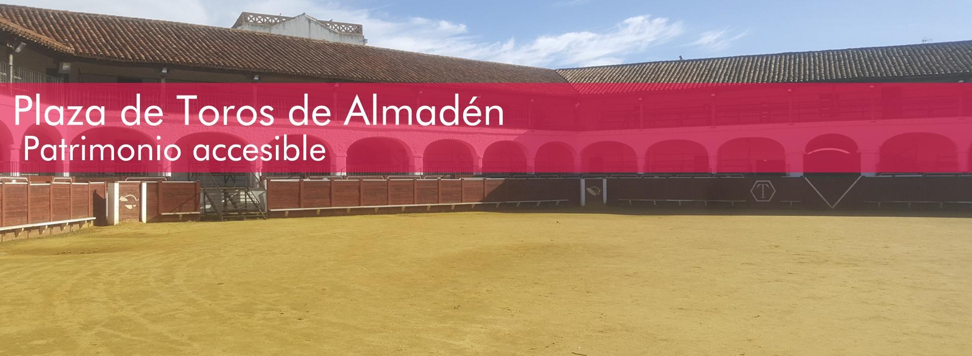 Plaza de Toros de Almadén accesible