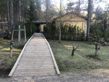 Acceso al Museo en el Parque del Hosquillo a través de rampa