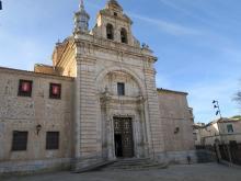 Fachada Ermita Cristo de la Veracruz de Consuegra