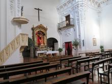 Interior de la Ermita del Cristo del Valle, Tembleque