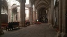 Pasillo lateral de La Colegiata, Talavera de la Reina, Toledo.
