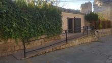 Rampa acceso baños adatados, La Playeta, Alcalá del Júcar, Albacete