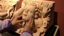Réplicas de esculturas que se pueden tocar para personas con discapacidad visual